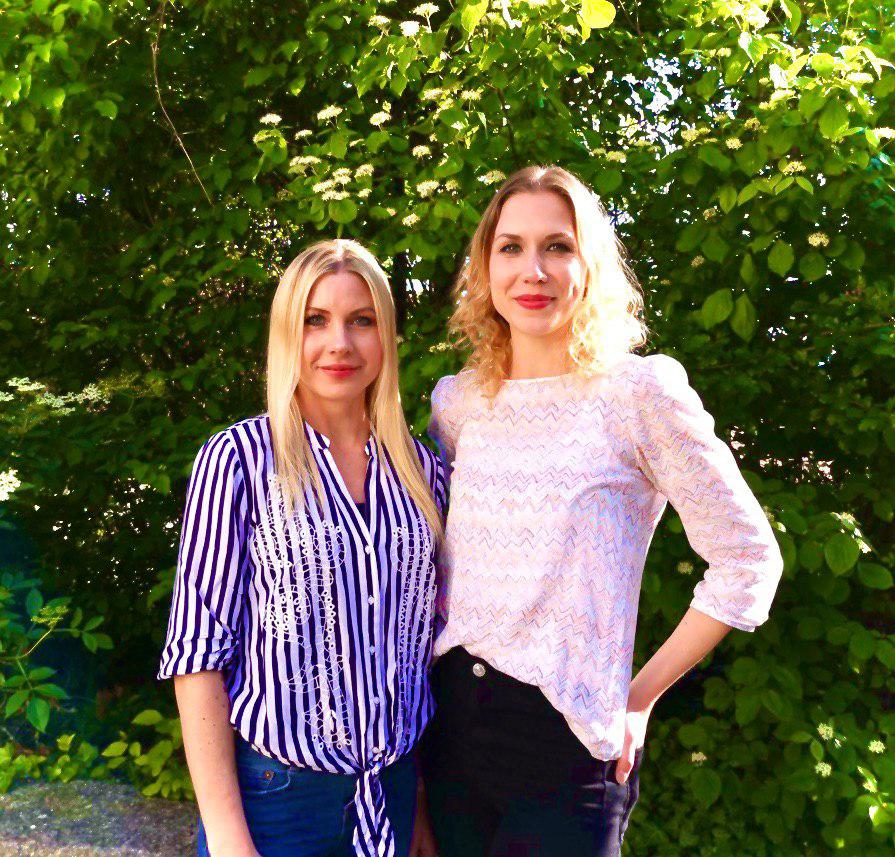 Foto von Lilian Durst und Laura Ziehfreund